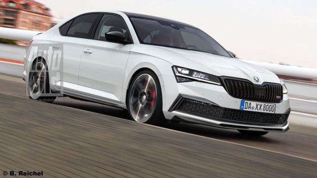 Skoda Superb RS iV: Illustration