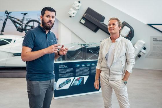 Exklusiv: Rosberg testet 1900-PS-Elektro-Hypercar