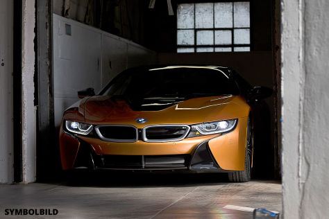 BMW i8 Roadster  !!! SPERRFRIST 29. November 2017  18:25 Uhr !!!