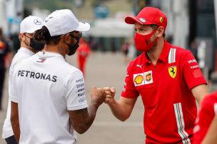 Engl�nder voten: Vettel besser als Hamilton