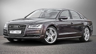 Audi A8 exclusive mit 20.000 Euro teurem Lederpaket zu verkaufen