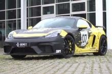 Auffälliger Look für einen Cayman GT4