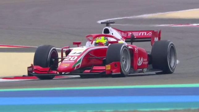 Formel 2: Schumacher Vierter