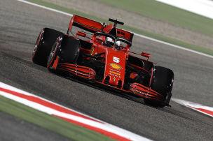 Vettel zur�ck auf Leclerc-Niveau