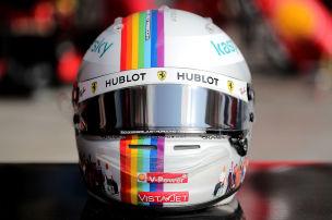 Vettel versteigert Diversity-Helm