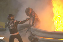 Formel 1: Feuerunfälle
