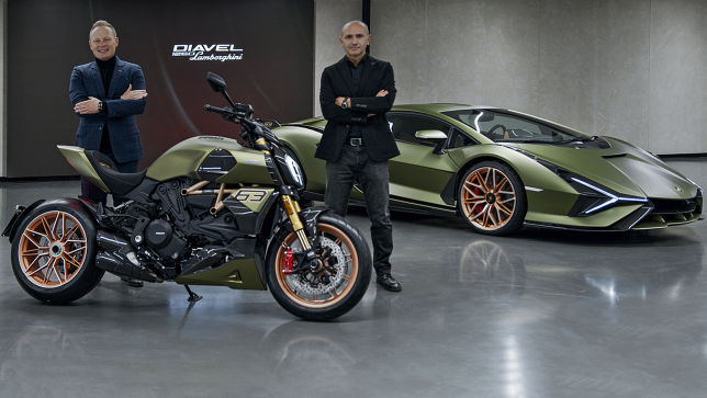Ducati baut einen limitierten Lamborghini auf zwei Rädern