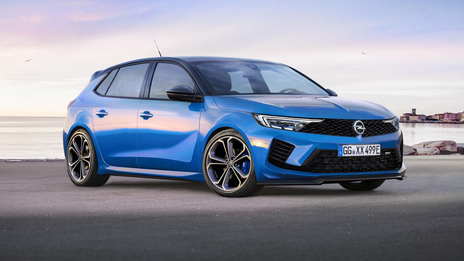 Opel Astra L OPC (2021): Skizze - Plug-in-Hybrid - PSA ...