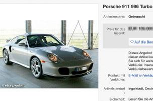 18 Jahre alter 911 Turbo mit nur 3400 km