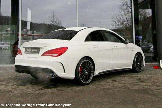 Mercedes-Benz CLA 45 AMG 4M COUPÉ