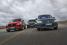 VW Tiguan Facelift im ersten Vergleich