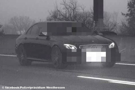Mercedes-AMG E-Klasse: illegales Straßenrennen