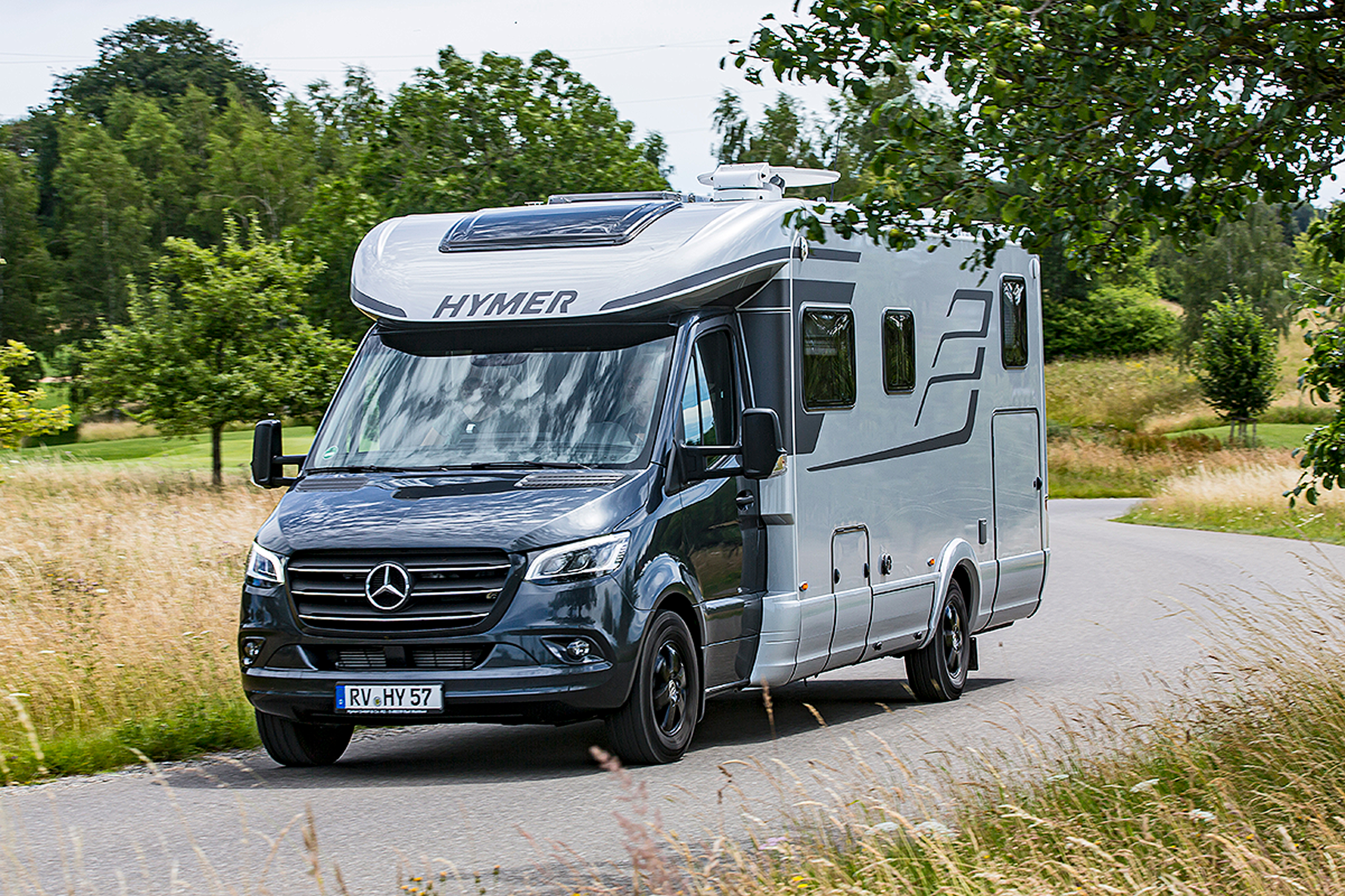 Hymer B-Klasse ML T 10: Wohnmobil-Test - autobild.de