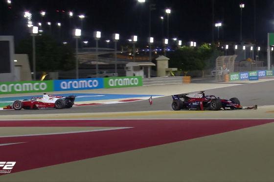 Schumacher zeigt erstmals Nerven