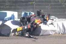 Super Formula: Crash, Suzuka, Überschlag