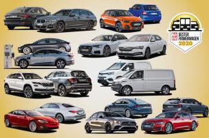 Die besten Firmenwagen 2020