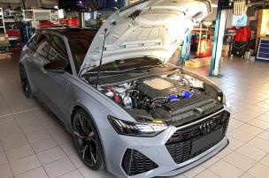Bugatti-Leistung im Audi RS 6 von HGP