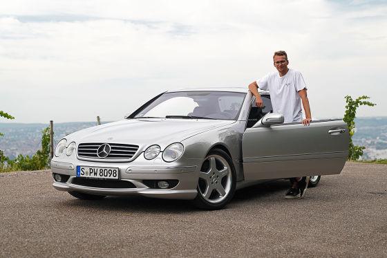Mercedes CL 55 AMG F1 Edition