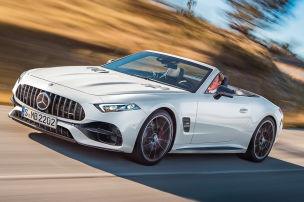 Die Neuauflage des Mercedes SL wird wohl immer ein AMG sein