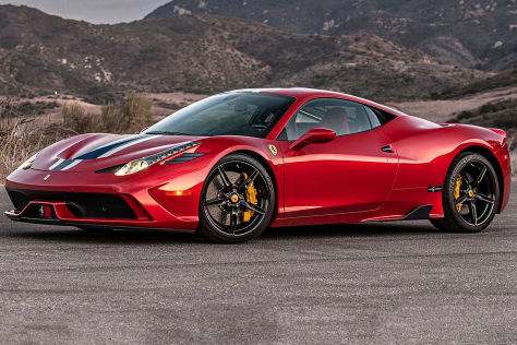 Ferrari 458 Speciale Kugelsicherer