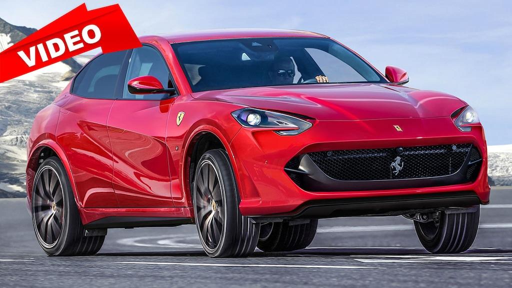 Das erste SUV von Ferrari heißt Purosangue und kommt 2021