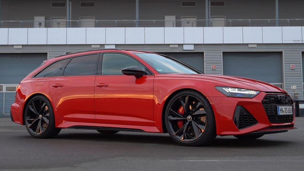 RS 6 Avant zeigt seine Power auf der Rennstrecke