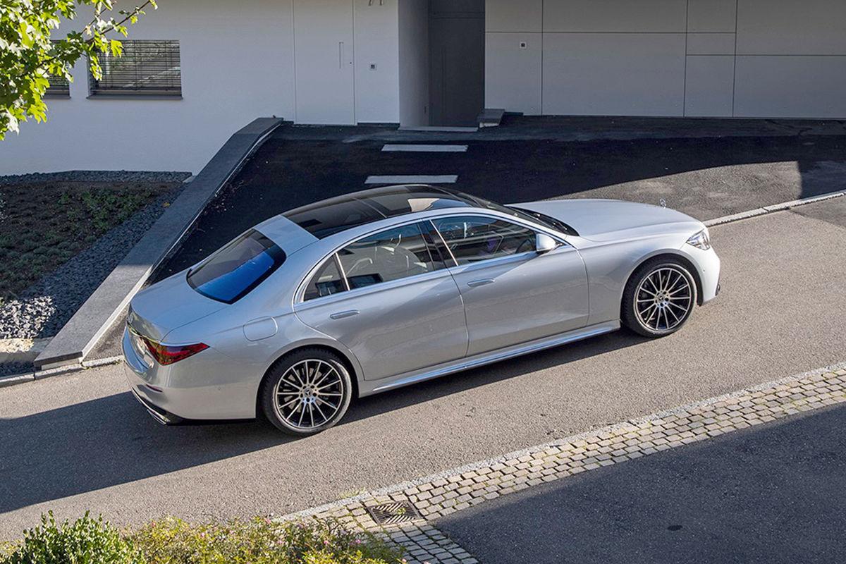 Mercedes S-Klasse S 400d 4matic
