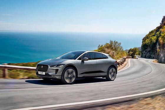 Feinstaub durch Elektroautos Jaguar I-Pace