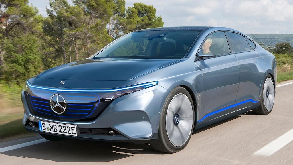 Mercedes EQE (2021): Neue Infos zur vollelektrischen E ...