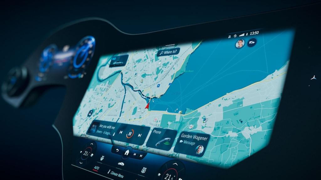MBUX-Upgrade im neuen Mercedes EQS