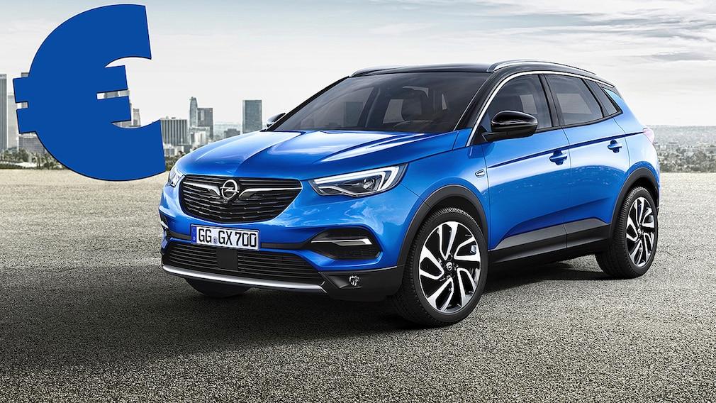 Opel Grandland X Montage