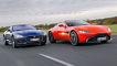 Jaguar F-Type P450 RWD     Aston Martin Vantage V8