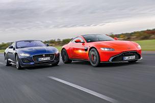 Der Aston Martin Vantage rast sch�ner