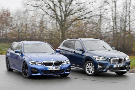 BMW 320d TOURING   BMW X1 sDRIVE20d