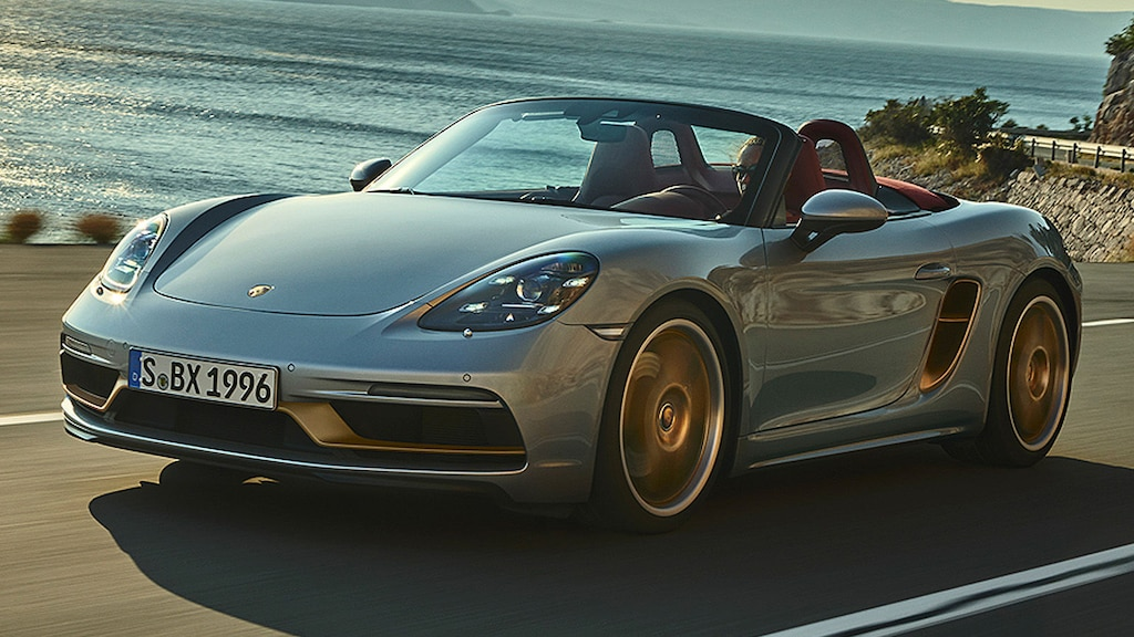 Limitiertes Geburtstags-Sondermodell vom Porsche Boxster