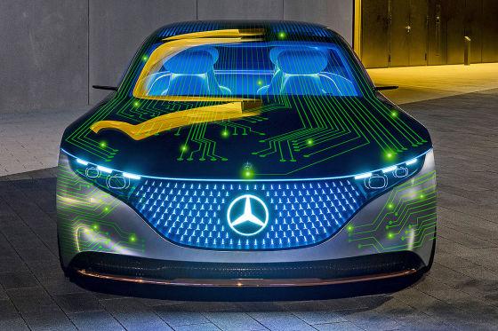 Mercedes-Benz geht Kooperation mit NVIDIA ein