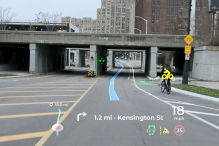 Panasonic Automotive Augmented Reality Head-Up-Display