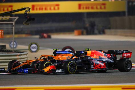 Formel 1: Überholmanöver