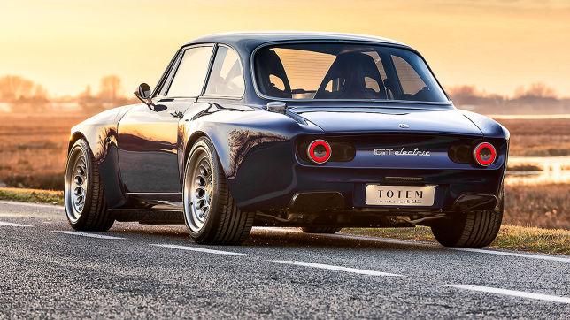Alfa Giulia GT Electric (2021): Totem Automobili