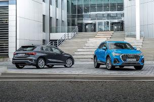 Audi A3 und Audi Q3 als Plug-in-Hybride