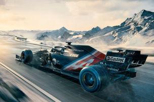 Alpine zeigt neue Testlackierung