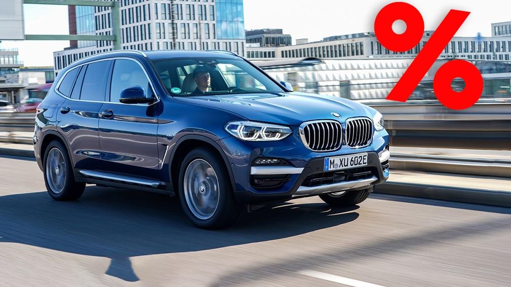 BMW X3 xDrive 30e PHEV billiger bei Carwow
