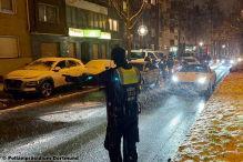 Polizei Kontrolleinsatz in Dortmund