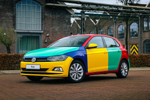 VW Polo Harlekin (2021): Einzelstück