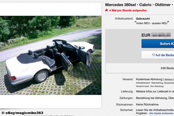 Mercedes 380sel