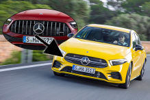Mercedes AMG A-Klasse A35  Panamericana Grill Montage