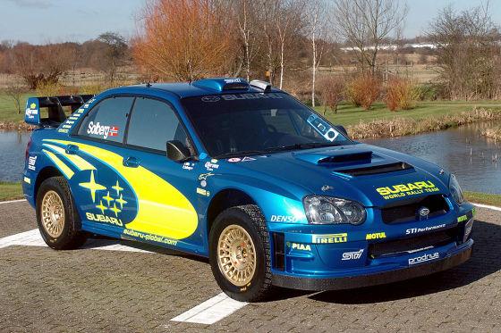 Subaru Impreza WRC 2004