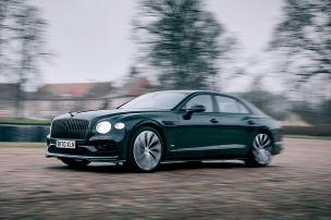 Die royale V8-Rakete von Bentley