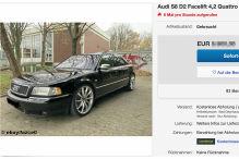 Gepflegter Audi S8 quattro unter 7000 Euro bei Ebay zu verkaufen!