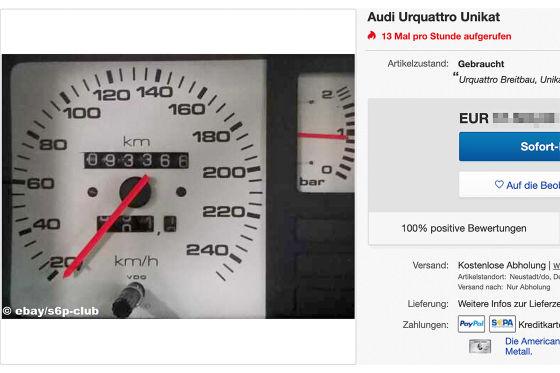Audi Urquattro Unikat